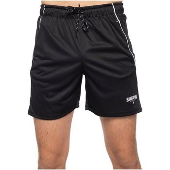 Vêtements Homme Shorts / Bermudas Shilton Short de sport zippé Noir