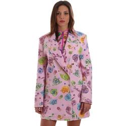 Vêtements Femme Vestes / Blazers Versace C2HVB507SN75SK69 Rose