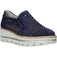 Chaussures Femme Slip ons CallagHan 14834 Bleu