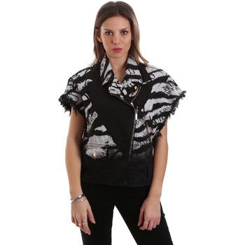 Vêtements Femme Blousons Versace C0HVB92DHRC5X899 Noir