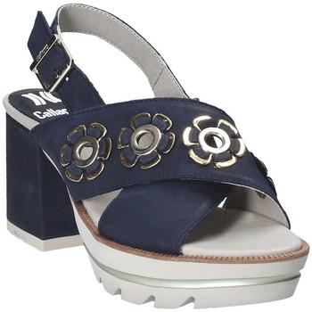 Chaussures Femme Sandales et Nu-pieds CallagHan 22600 Bleu