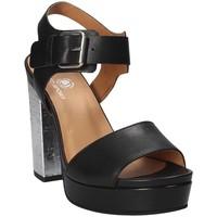 Chaussures Femme Sandales et Nu-pieds Janet Sport 41907 Noir