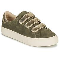 Schuhe Damen Sneaker Low No Name ARCADE STRAPS Khaki