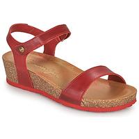 Schuhe Damen Sandalen / Sandaletten Panama Jack CAPRI Rot