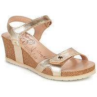 Schuhe Damen Sandalen / Sandaletten Panama Jack JULIA SHINE Golden