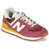 Schuhe Damen Sneaker Low New Balance 574 Bordeaux