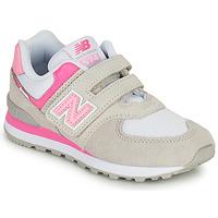 Schuhe Mädchen Sneaker Low New Balance 574 Grau