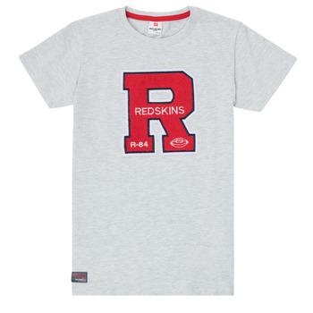 Abbigliamento Bambino T-shirt maniche corte Redskins TSMC180161-BLENDED-GREY