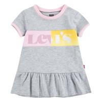 Kleidung Mädchen Kurze Kleider Levi's 1EC694-G2H Grau