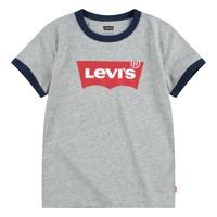 Kleidung Jungen T-Shirts Levi's BATWING RINGER TEE Grau