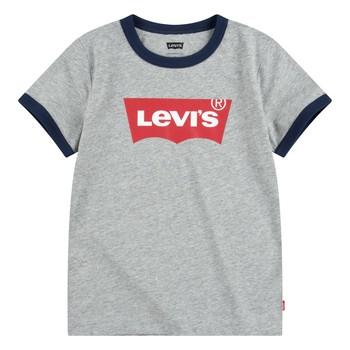 Abbigliamento Bambino T-shirt maniche corte Levi's BATWING RINGER TEE