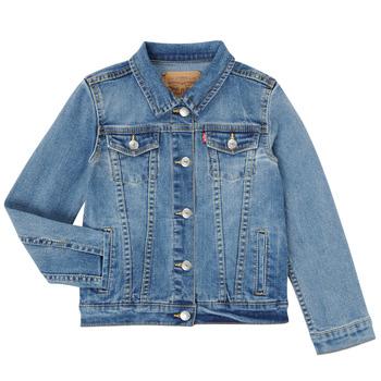 Kleidung Mädchen Jeansjacken Levi's 3E4388-M0K Blau