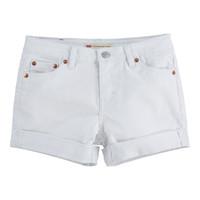 Kleidung Mädchen Shorts / Bermudas Levi's 4E4536-001 Weiß