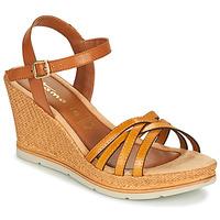 Schuhe Damen Sandalen / Sandaletten Tamaris SLOB Kognac