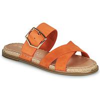 Schuhe Damen Pantoffel Tamaris LIDYA Orange