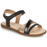 Schuhe Mädchen Sandalen / Sandaletten Geox SANDAL KARLY GIRL Golden
