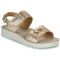 Schuhe Mädchen Sandalen / Sandaletten Geox SANDAL COSTAREI GI Golden