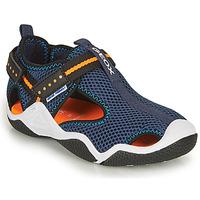 Schuhe Jungen Sportliche Sandalen Geox JR WADER A