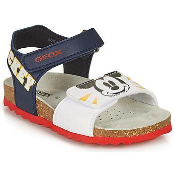 Chaussures Garçon Sandales et Nu-pieds Geox SANDAL CHALKI BOY