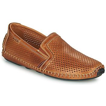 Schuhe Herren Slipper Pikolinos JEREZ 09Z Braun,