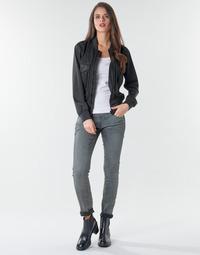 Kleidung Damen Röhrenjeans G-Star Raw 3301 Low Skinny Wmn Grau