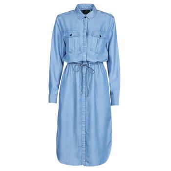 Abbigliamento Donna Abiti lunghi G-Star Raw Rovic maxi shirt dress ls