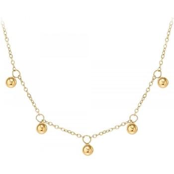 Montres & Bijoux Femme Colliers / Sautoirs Sc Crystal B2290-DORE Doré