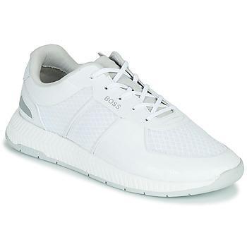 Schuhe Herren Sneaker Low BOSS TITANIUM RUNN MEMLLG Weiß