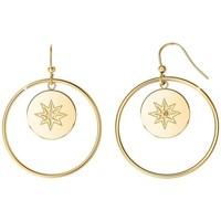 Montres & Bijoux Femme Boucles d'oreilles Sc Crystal B2318-DORE Doré