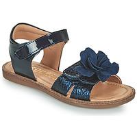 Schuhe Mädchen Sandalen / Sandaletten Bisgaard AGNES Marineblau