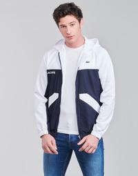 Kleidung Herren Jacken Lacoste SHANNA Marineblau / Weiß