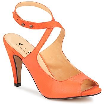 Schuhe Damen Sandalen / Sandaletten D.Co Copenhagen MARISSA Orange