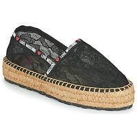 Schuhe Damen Leinen-Pantoletten mit gefloch Love Moschino JA10373G1C