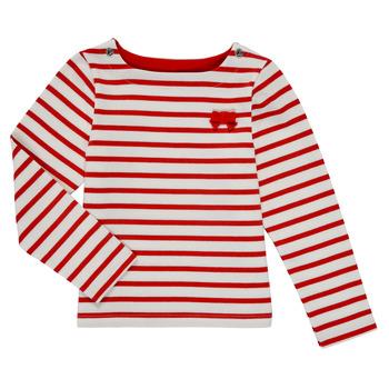 Vêtements Fille T-shirts manches longues Petit Bateau MAHALIA
