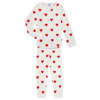 Kleidung Mädchen Pyjamas/ Nachthemden Petit Bateau MISON Bunt