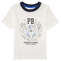 Vêtements Garçon T-shirts manches courtes Petit Bateau MARCO