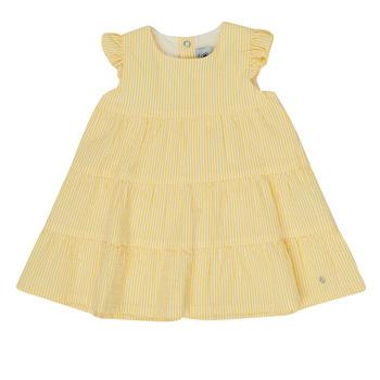 Vêtements Fille Robes courtes Petit Bateau MERINGUE