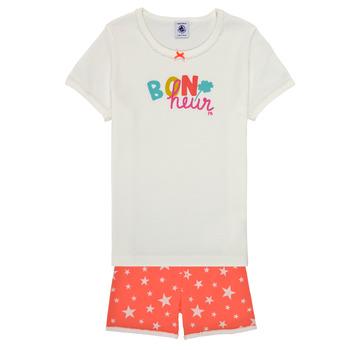 Kleidung Mädchen Pyjamas/ Nachthemden Petit Bateau MARSHA Bunt