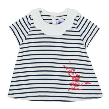 Kleidung Mädchen T-Shirts Petit Bateau MELIANE Bunt