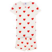 Vêtements Fille Pyjamas / Chemises de nuit Petit Bateau MICOURT