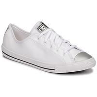 Schuhe Damen Sneaker Low Converse CHUCK TAYLOR ALL STAR DAINTY ANODIZED METALS OX Weiß