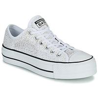 Schuhe Damen Sneaker Low Converse CHUCK TAYLOR ALL STAR LIFT BREATHABLE OX Weiß