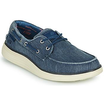 Schuhe Herren Bootsschuhe Skechers STATUS 2.0 LORANO Marineblau