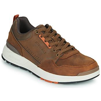 Schuhe Herren Sneaker Low Skechers FAIRLINE Braun,