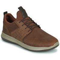 Schuhe Herren Sneaker Low Skechers DELSON AXTON Braun,