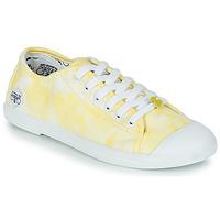 Schuhe Damen Sneaker Low Le Temps des Cerises BASIC 02 Gelb