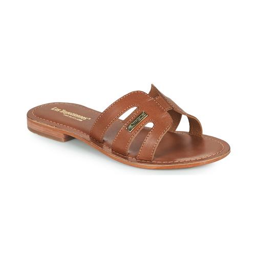 Schuhe Damen Pantoffel Les Tropéziennes par M Belarbi DAMIA Braun,