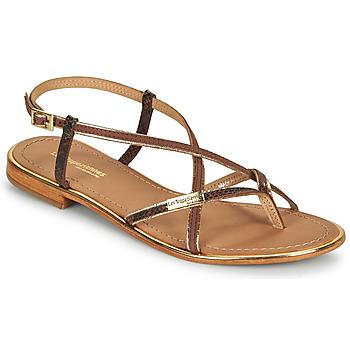 Schuhe Damen Sandalen / Sandaletten Les Tropéziennes par M Belarbi MONAGOLD Braun,