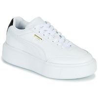 Schuhe Damen Sneaker Low Puma CALI OSLO Weiß