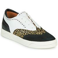 Schuhe Damen Sneaker Low Mam'Zelle ALIBI Weiß / Golden